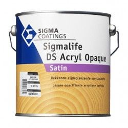 Sigmalife DS ACRYL OPAQUE houtbeits dekkend
