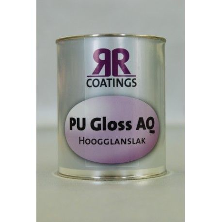 RR coatings PU gloss AQ hoogglanslak waterbasis 1 ltr