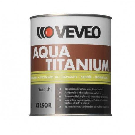 Veveo Celsor Aqua Titanium ZG zijdeglans