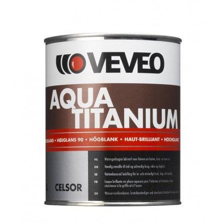 Veveo Celsor Aqua Titanium HG hoogglans