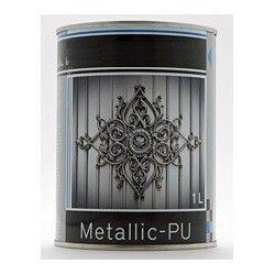 Watergedragen Metallic-PU metaaleffectlak 1 liter