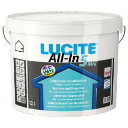 Lucite All-In acrylaatmuurverf mat 5