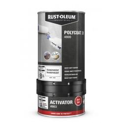 Rustoleum transparante 2-componentenvernis Polycoat 4900 PU