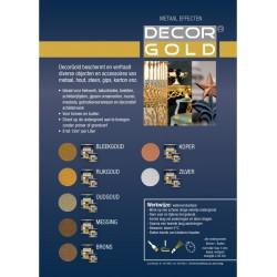 Decorgold kleurenkaart