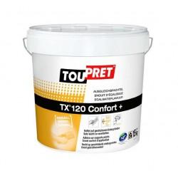 Egalisatieplamuur Toupret TX 120 Confort + emmer 15 kg