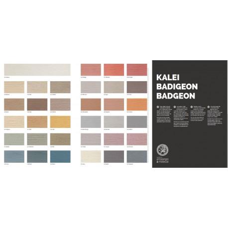 Stoopen en Meeus kleurenkaart KALEI, folder gedrukt