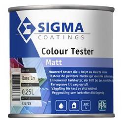 Sigma MUURVERF kleurentester 0,25 liter