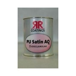 RR coatings PU satin AQ zijdeglanslak waterbasis