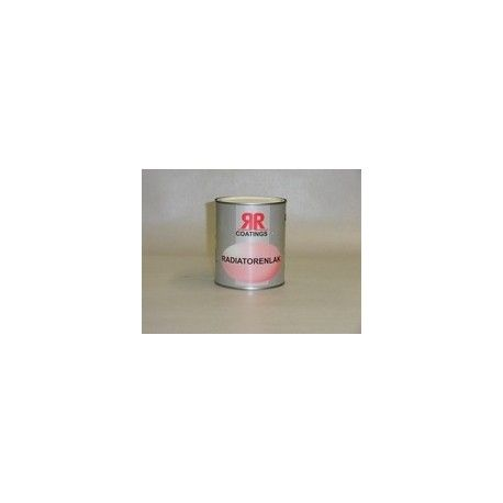 RR coatings radiatorlak 0,75 ltr terpentinebasis