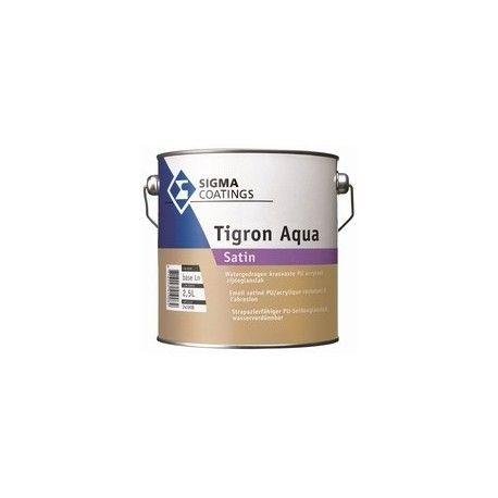 Sigma Tigron Aqua Satin zijdeglanslak