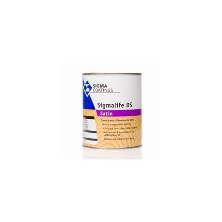 Sigmalife DS Satin transparante beits zijdeglans