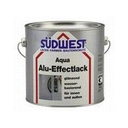 Sudwest alu-effectlak AQUA 0,75 ltr