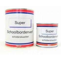 Super schoolbordenverf zwart, synthetisch 250 ml