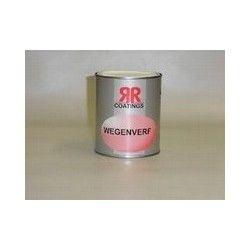 Wegenverf RR coatings wit 0,75 ltr