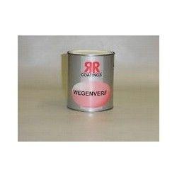Wegenverf RR coatings wit 0,75 ltr
